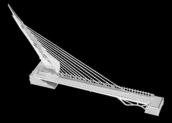 metal earth architecture - sundial bridge