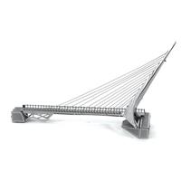 metal earth architecture - sundial bridge 1