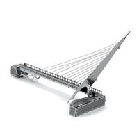 metal earth architecture - sundial bridge 2