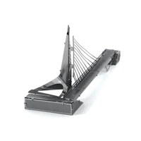 metal earth architecture - sundial bridge 3