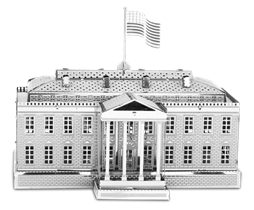 metal earth architecture - white house