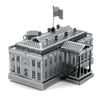 metal earth architecture - white house 1