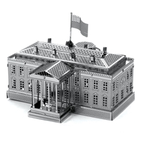 metal earth architecture - white house 2