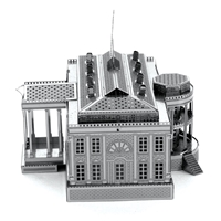 metal earth architecture - white house 3