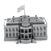 metal earth architecture - white house 4