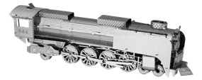 metal earth vehicles - steam locomotive