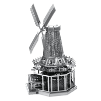 metal earth windmill 3