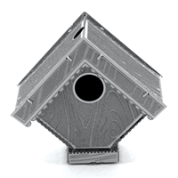 metal earth bird house 2