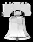 metal earth models - liberty bell
