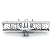 metal earth  aviation - wright brothers airplane 4