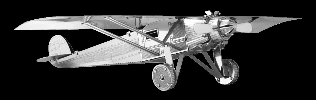 metal earth aviation - spirit of saint louis