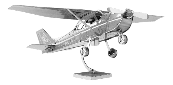 metal earth aviation cessna 172