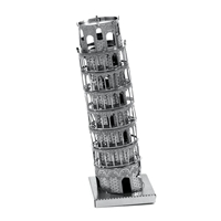 metal earth Architecture - tower of pisa 1