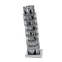 metal earth Architecture - tower of pisa 2