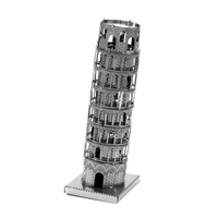 metal earth Architecture - tower of pisa 4