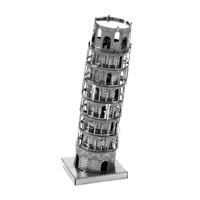 metal earth Architecture - tower of pisa 5
