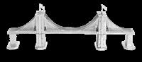 metal earthe  architecture - brooklyn bridge