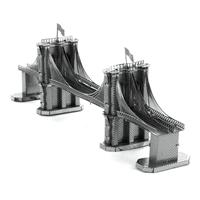 metal earthe  architecture - brooklyn bridge 3