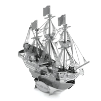 Metal Earth ships - metal golden hind 1