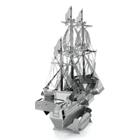 Metal Earth ships - metal golden hind 4