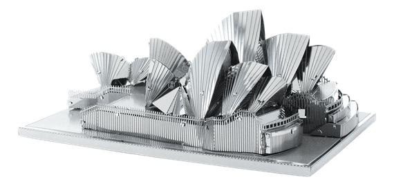 metal earth Architecture - sydney opera house