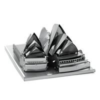 metal earth Architecture - sydney opera house 1
