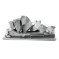 metal earth Architecture - sydney opera house 2