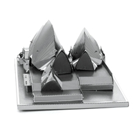 metal earth Architecture - sydney opera house 4