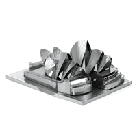 metal earth Architecture - sydney opera house 5