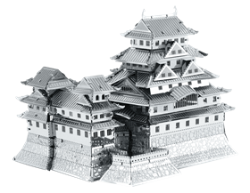 metal earth architecture himeji castle