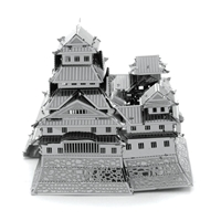 metal earth architecture himeji castle 1