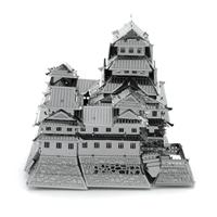 metal earth architecture himeji castle 3