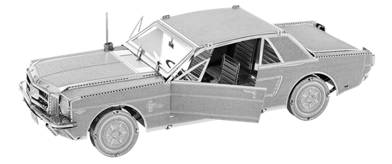metal earth vehicles - 1965 Ford Mustang