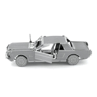 metal earth vehicles - 1965 Ford Mustang 1