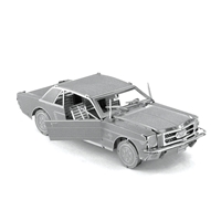 metal earth vehicles - 1965 Ford Mustang 4