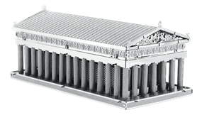 metal earth architecture - parthenon