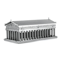 metal earth architecture - parthenon 2