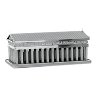 metal earth architecture - parthenon 4