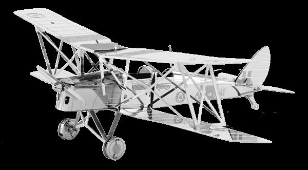 metal earth  the aviation - de havilland tiger moth