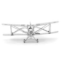 metal earth  the aviation - de havilland tiger moth 1