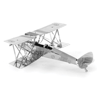 metal earth  the aviation - de havilland tiger moth 3