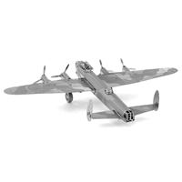 metal earth vehicles avri lancaster bomber 2
