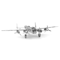 metal earth vehicles avri lancaster bomber 3