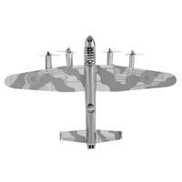 metal earth vehicles avri lancaster bomber 4