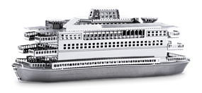 metal earth ships commuter ferry