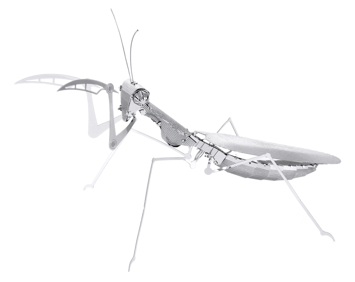 Metal Erath Bugs - Praying mantis