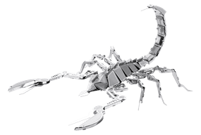 metal earth  bugs - scorpion