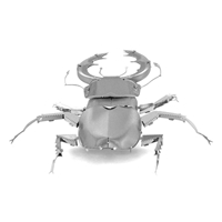 metal earth bugs - stag beetle 3