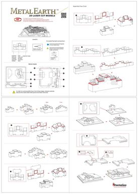 metal earth architecture - javits convention center instructions