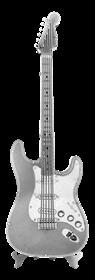 metal earth musical - electric lead guitar